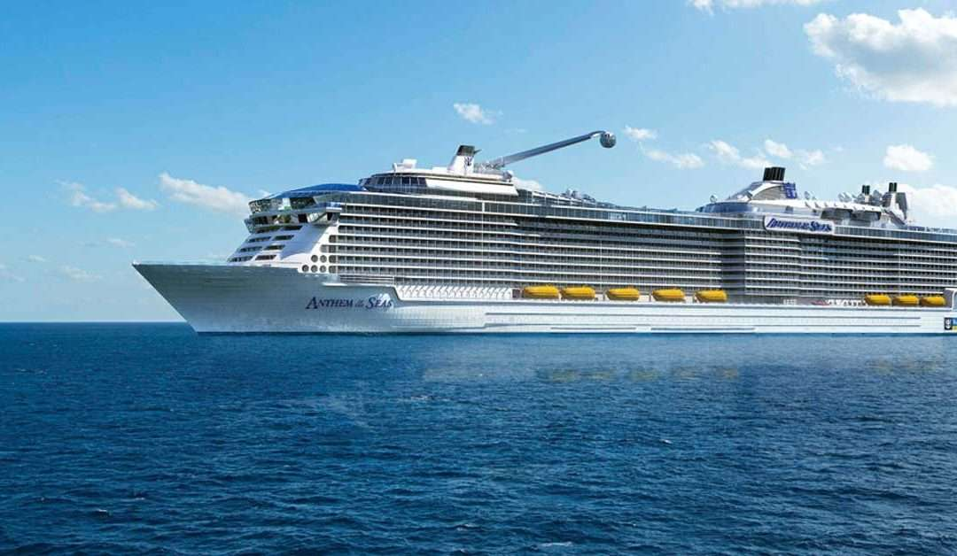 The Royal Caribbean Anthem of the Seas Pre-inaugural Sailing