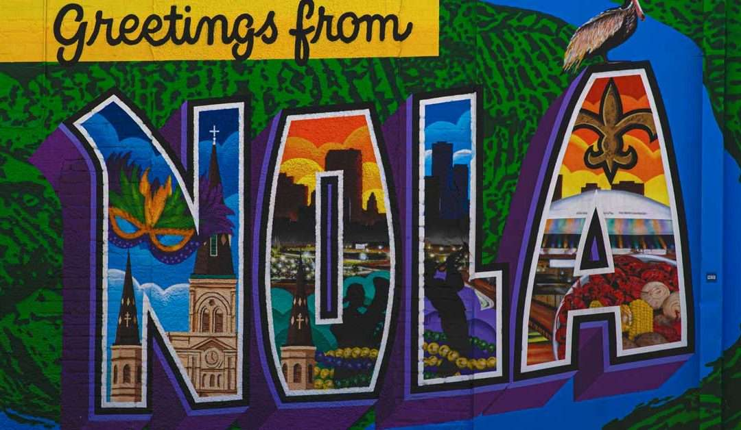 Stewart Tours flies to N'awlins (New Orleans)